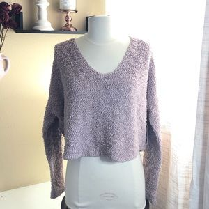 NWT. Free people Popcorn knit sweater